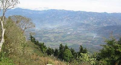Desde la cima del Volcán Jumaytepeque