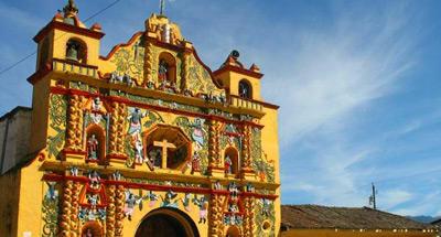 Iglesia de San Andrés Xecul